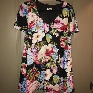 Show me your mumu floral mini dress size M